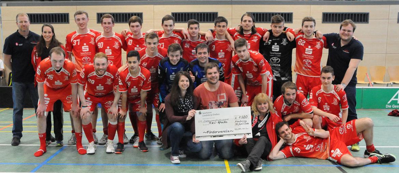 Förderverein und die 1. Bundesliga Mannschaft